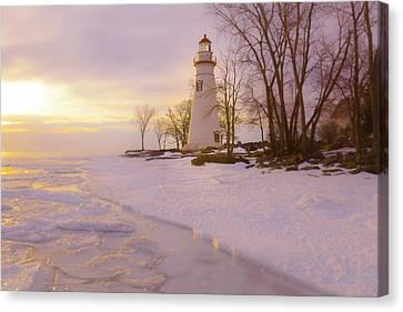 Sunrise Marblehead Canvas Print