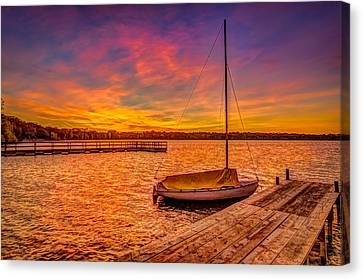 Sunrise Minneapolis Canvas Print