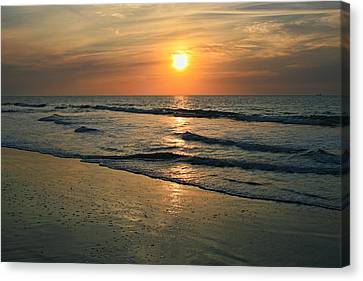 Sunrise Myrtle Beach Canvas Print