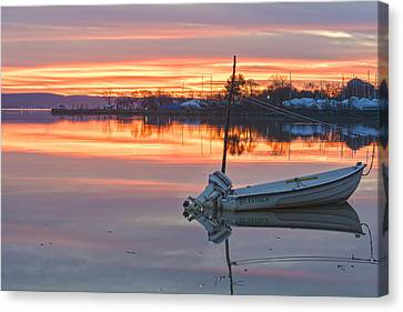Sunrise On Christmas Day Canvas Print