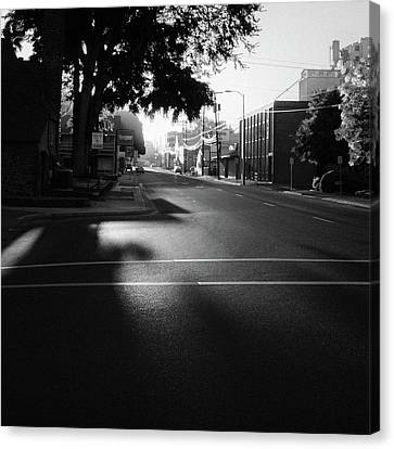 Sunrise On Dorion Avenue Canvas Print