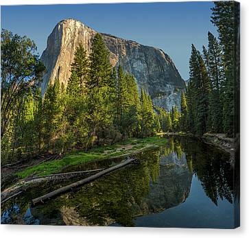 Sunrise On El Capitan Canvas Print by Peter Tellone