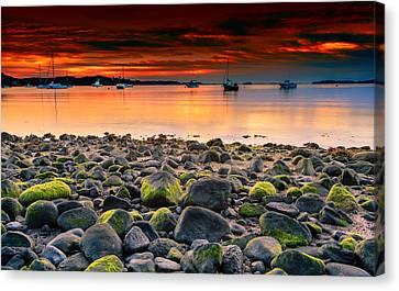 Sunrise On Pleasant Bay Canvas Print
