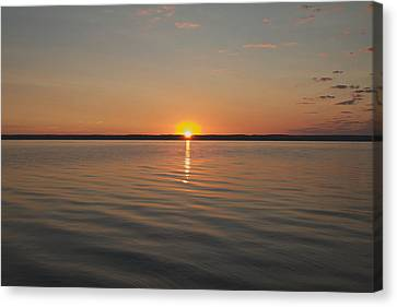 Sunrise On Seneca Lake Canvas Print