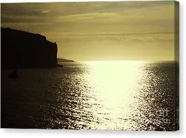 Sunrise On The Almalfi Coast Canvas Print