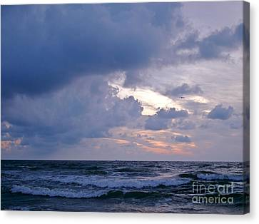 Sunrise On The Atlantic Canvas Print
