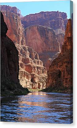 Colorado River Canvas Print - Sunrise On The Colorado by Mike Buchheit