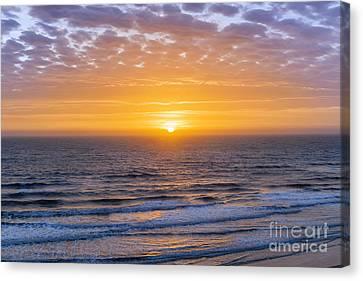 Sunrise Over Atlantic Ocean Canvas Print