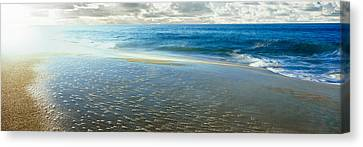 Sunrise Over Pacific Ocean, Lands End Canvas Print by Panoramic Images