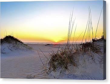 Sunrise Over Pea Island Canvas Print