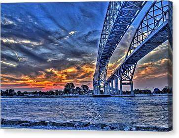 Sunrise Over Sarnia Canvas Print by Don McBride