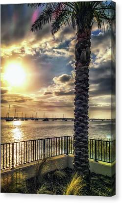 Sunrise Over The Matanzas Canvas Print