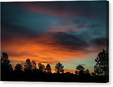 Sunrise Over The Southern San Juans Canvas Print by Jason Coward
