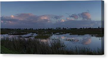 Sunrise Over The Wetlands Canvas Print