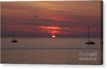 Sunrise Rockport Ma Canvas Print