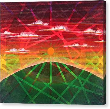 Sunrise Canvas Print by Rollin Kocsis