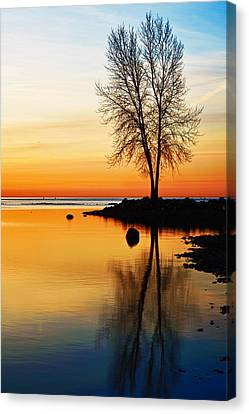 Sunrise Serenity Canvas Print by James Marvin Phelps