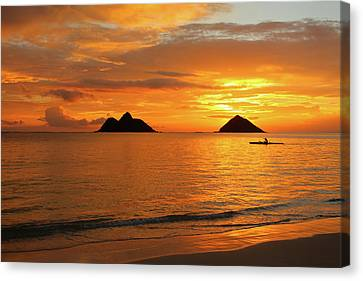 Sunrise Solo Canvas Print by Brian Governale