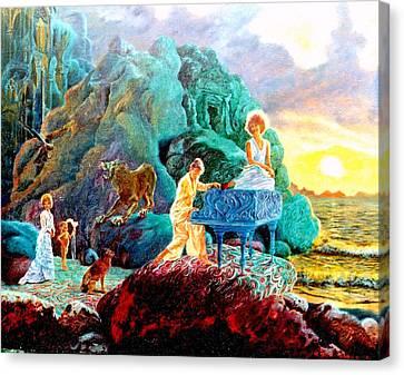 Sunrise Sonata Canvas Print by Henryk Gorecki