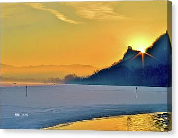 Sunrise Sparkle Canvas Print
