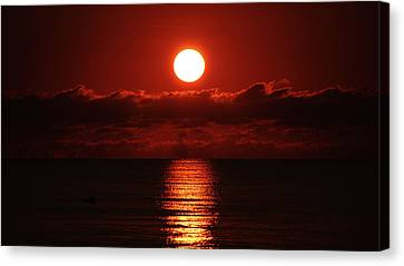 Sunrise Spotlight Delray Beach Florida Canvas Print