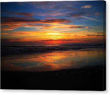 Sunrise Sunset  Full Canvas Print