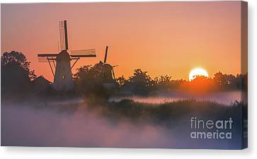 Sunrise Ten Boer - Netherlands Canvas Print