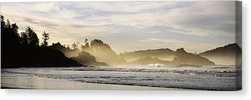 Sunrise Vancouver Island British Canvas Print by Panoramic Images