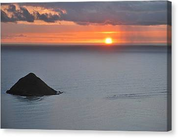 Canvas Print featuring the photograph Sunrise View by Amee Cave