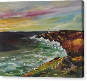 Sunrise Viii Canvas Print by Jun Jamosmos