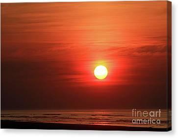 Sunrise Wildwood Crest New Jersey Canvas Print