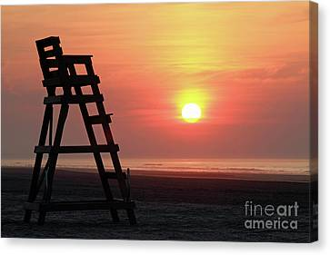 Sunrise Wildwood Crest Nj Canvas Print