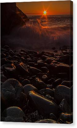 Sunrise Canvas Print by William Sanger