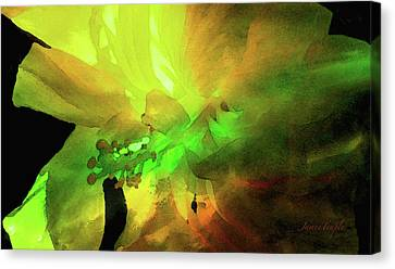 Canvas Print - Suns Glare Digital Watercolor by James Temple