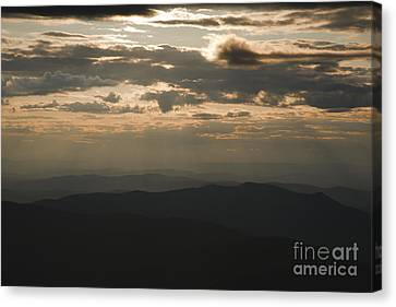 Sunset - White Mountains New Hampshire Usa Canvas Print by Erin Paul Donovan