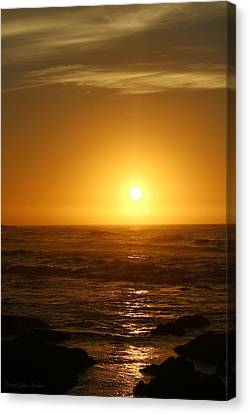 Sunset 12 03 16 One Canvas Print