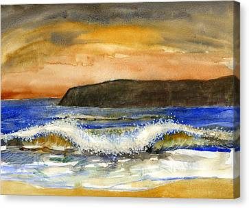 Sunset #20 Coronado Canvas Print