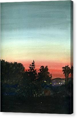 Sunset #26 Lemon Grove Canvas Print