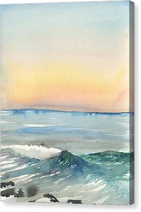 Sunset 33 - La Jolla Canvas Print
