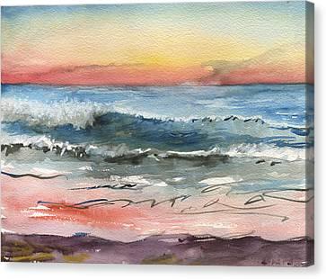 Sunset 39 Imperial Beach Canvas Print