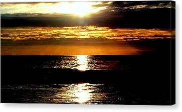 Sunset 4 Canvas Print by J Perez