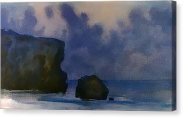 Sunset 4 Canvas Print by Valeriy Mavlo