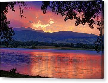 Sunset 6.27.10 - 28 Canvas Print