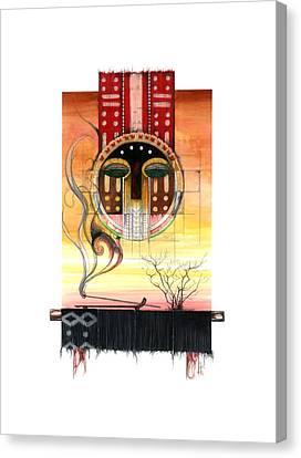 Sunset Canvas Print by Anthony Burks Sr