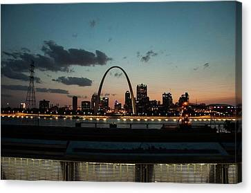 Sunset Arch Canvas Print