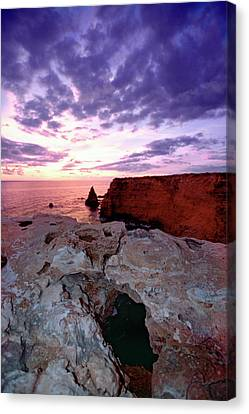 Sunset At Cabo Rojo Canvas Print by George Oze