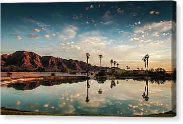 Sunset At Las Barancas Canvas Print