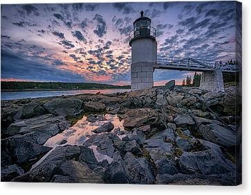 Sunset At Marshall Point Canvas Print