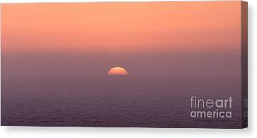 Sunset At Pacifica Canvas Print