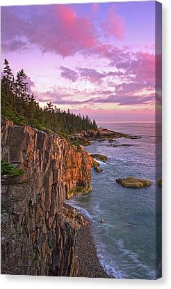 Sunset At Ravens Nest Canvas Print